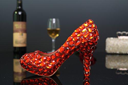 Miyoopark , Semelle compensée femme - Rouge - Red-10cm Heel, 35 EU