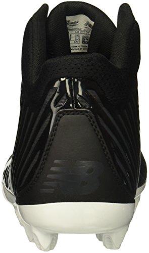 Lacrosse-Geschwindigkeits-Lacrosse-Schuh der neuen Balancen-Männer stürmen v1 Lacrosse Schwarzgrau