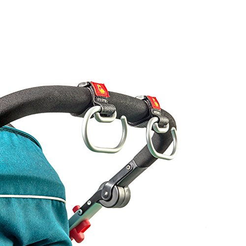 Stroller Hooks for Diaper Organizer, Great Strength Shopping Bags Carrier, 2 of Set by YIIGO (Image #3)