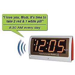 Stress Free Reminder Rosie Alarm Clock That Responds To Verbal Commands