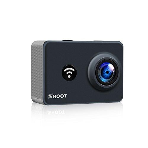 Lighten Action Camera 4K WiFi Outdoor 1080P Sports Cam 170°Wide View Angle Lighten