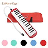 Glarry 32 Keys Melodica Musical Instrument for