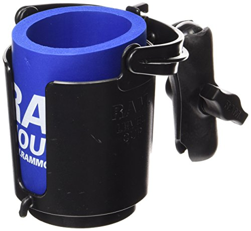 RAM MOUNTS (RAP-B-132B-201U Drink Cup Holder with (Drink Cup Holder Mount)