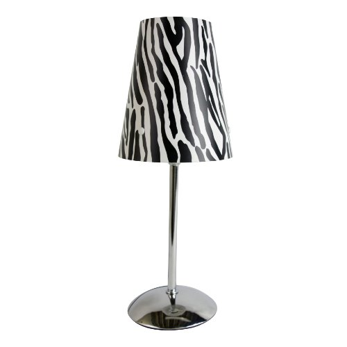 Limelights LT3024-ZBA Mini Stick lamp, Zebra (Bedrooms Zebra Lamps For)
