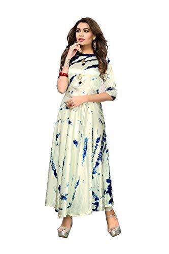 Traditonal Ethnic 7 Kurti Beige Indian Women Facioun Designer Da Partywear Readymade wv6XYq8Hx