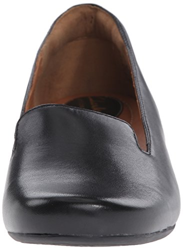 Clarks Concert Jazz Ballet Flat Black Leather mY25R1Dm31