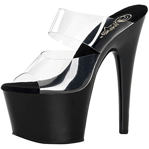Pleaser Day and Night Women's Plateau Dmqv6OIRQN