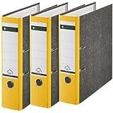 Leitz 310305015 - Clasificador (3 unidades, 180A, A4), color amarillo