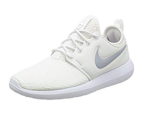 White NIKE Two Shoe Wolf Women's White Running Grey Roshe w4rqn4SExX