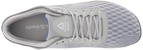Reebok Men's CROSSFIT Nano 8.0 Sneaker, White/Stark Grey/Skull GR, 6.5 M US by Reebok (Image #7)