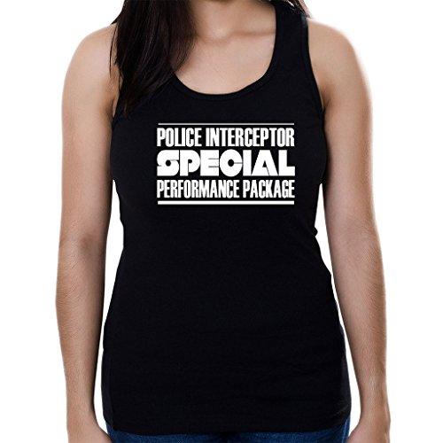 Custom Brother - Police Interceptor Special Performance Package Women's Tank Top Shirt Black