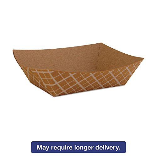 Southern Champion Tray 0509 #50 ECO Kraft Paperboard Food Tray / Boat / Bowl, 1/2-lb Capacity (Case of ()