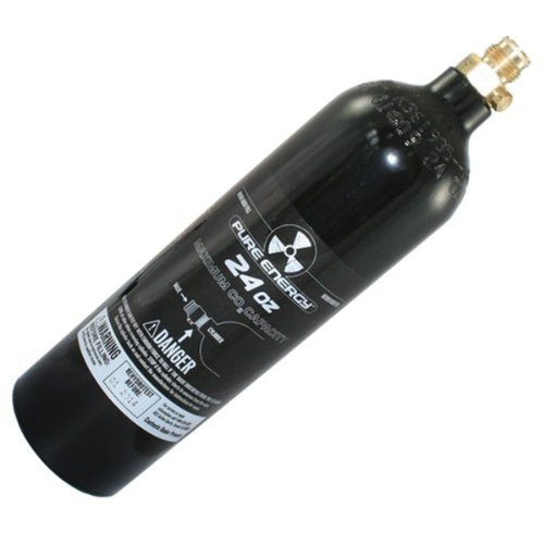 Aluminum Co2 Tank with Pin Valve ()