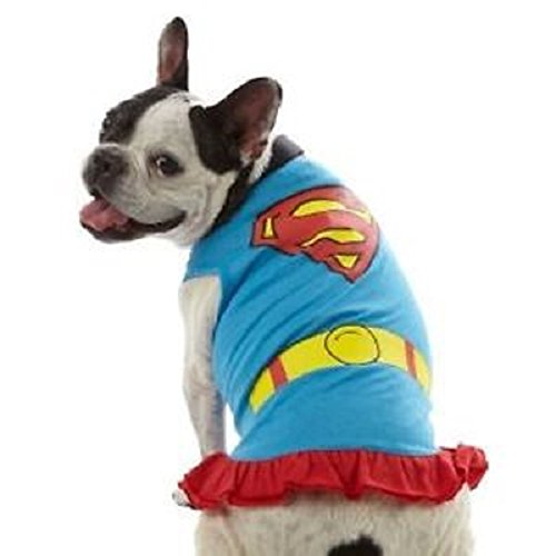 Pet's Super Girl Dress - Size X-Small (Supergirl Dog Costume)