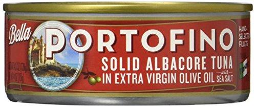 Bella Portofino Solid Albacore Tuna In Extra Virgin Olive Oil, 4.5 Ounce (Pack of 12) ()