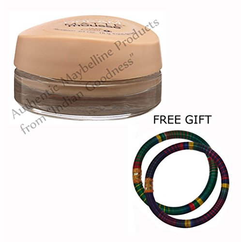 Maybelline Dream Matte Mousse Foundation Nude Light 4 18 GM - With FREE GIFT (Pair of Multicolor Bangles) and