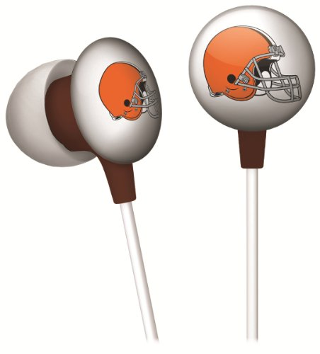 NFL Cleveland Browns Ear Buds - Shopping Malls Cleveland