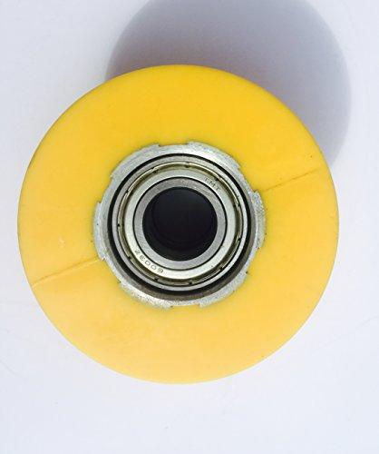 Sole Spirit Xterra Elliptical Crosstrainer Orange Wheels Rail Wheel Roller by Spirit