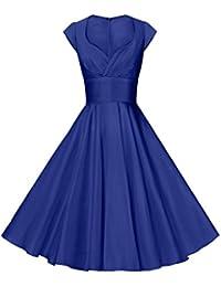 Womens Dresses Party Dresses 1950s Vintage Dresses Swing...