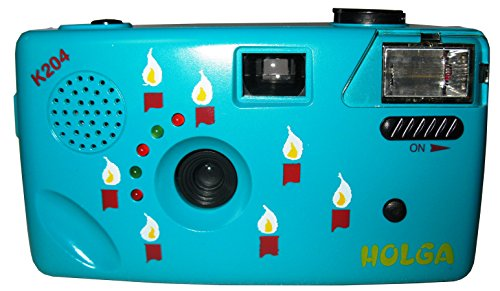 Holga K204 Blue Original Noise Making 35mm Film Camera … by Holga