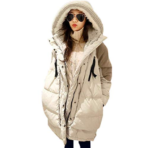 Targogo Hiver Manteau Femme Elgante Longues Quilting Blouson  Capuchon Manches Longues Vtements Fashion Chaud Large paissir Casual Outdoor Coat Outerwear Parka Hiver Kaki
