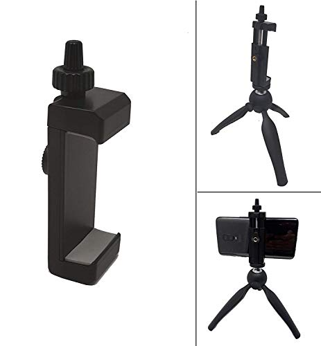 Yantralay School Of Gadgets Universal Extendable Vertical Mobile Tripod Monopod Mount Compatible with iPhone, Samsung, OnePlus & Other Smartphones, Selfie Sticks Supports Width Upto 2.04-4.14 Inches