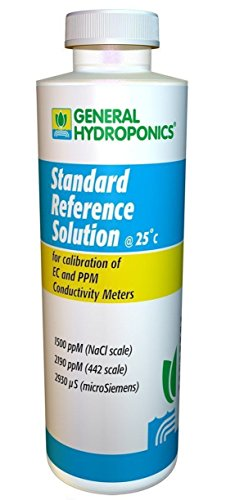 (1 Pc Extreme Popular GH 1500ppm Calibration Solutions pH Hydroponics Technicians Check Reliable Results Volume 8 oz )