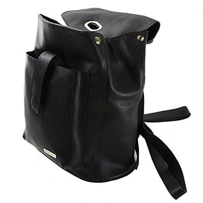 Womens Alpine Swiss Genuine Leather Backpack Purse Handbags