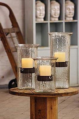 Kalalou Original Glass Large Candle Cylinder
