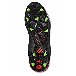 adidas Men's Messi 15.1 Black/Green/Solar Red Athletic Shoe