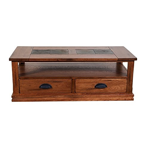 Sunny Designs Sedona Storage Coffee Table in Rustic (Sedona Rectangular Cocktail Table)