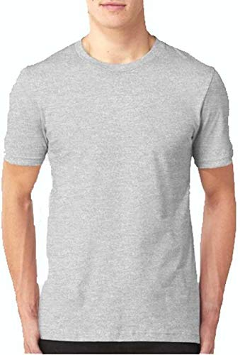 T.N.X Men's Slim Fit Cotton T-Shirt (Available in Many Colours)