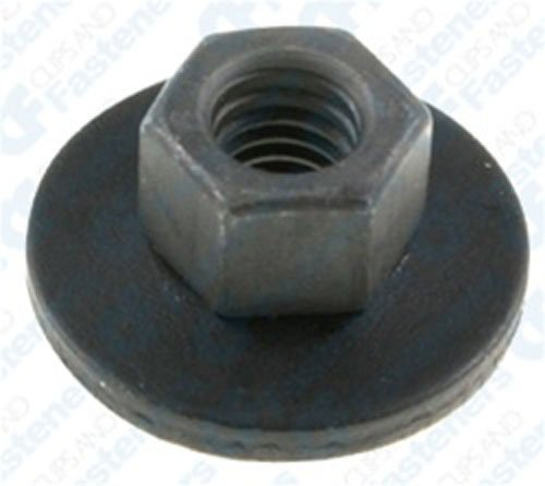 50 M6-1.0 Free Spinning Washer Nuts Washer O.D. 20mm ()