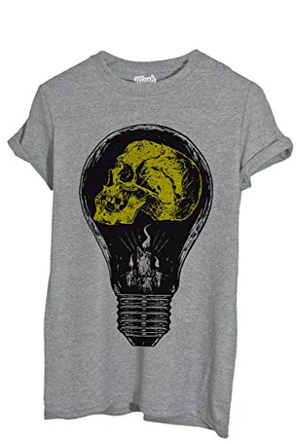 Your Dress Mush Light By Idea shirt Teschio T Style Bulb Famosi qOzHcg