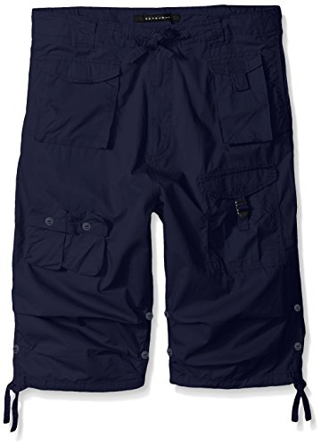 Sean John Men's Big and Tall Classic Flight Short, Navy, 56B by Sean John