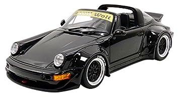 Gt Spirit RWB 964 Targa 43118 Porsche, zm117, Negro, en Miniatura (Escala