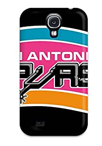 Awesome FRACTfL443OEeJs DanRobertse Defender Tpu Hard Case Cover For Galaxy S4- San Antonio Spurs Basketball Nba (27)