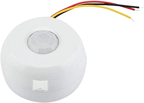 Switch Infrared Human Body Induction Motion Sensor Switch for Corridors Bathrooms AC85-265V