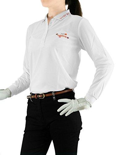(ウッディワールド) WOODY WORLD レディース ゴルフ 吸汗速乾 鹿の子 ポロシャツ pc-603