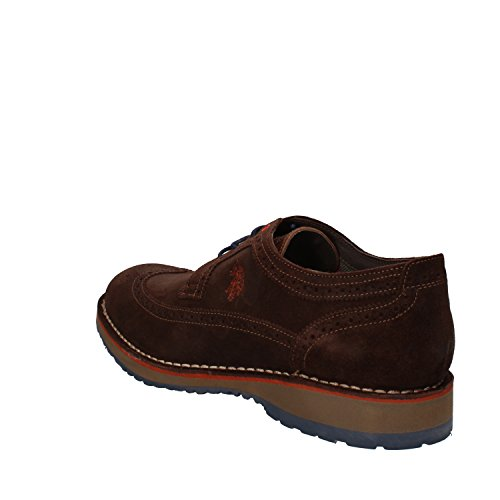 U.S.POLO ASSN. , Chaussures de ville à lacets pour homme marron marron