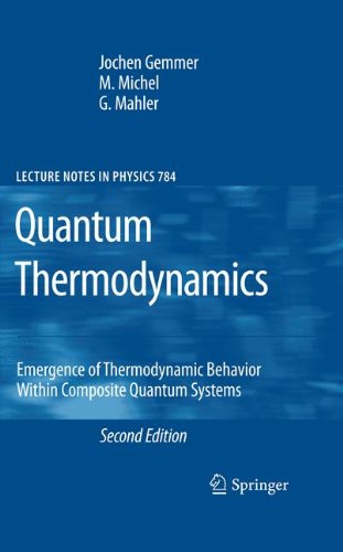 Quantum Thermodynamics: Emergence of Thermodynamic Behavior Within Composite Quantum Systems (Lecture Notes in Physics) - Open Quantum Systems