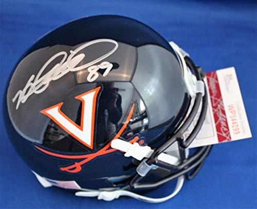 (Autographed Signed Heath Miller Virginia Cavaliers Football Mini Helmet With Jsa Coa - Certified Authentic)