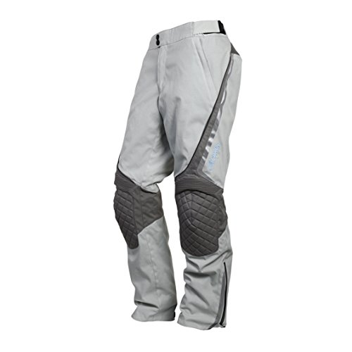 Discount Motorcycle Pants - ScorpionExo XDR Zion Women's Textile Adventure Touring Motorcycle Pants (Grey, Medium)