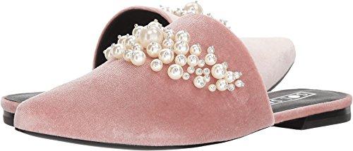Sol Sana Women's Grace Slide Dusty Rose Velvet Pearl 38 M EU