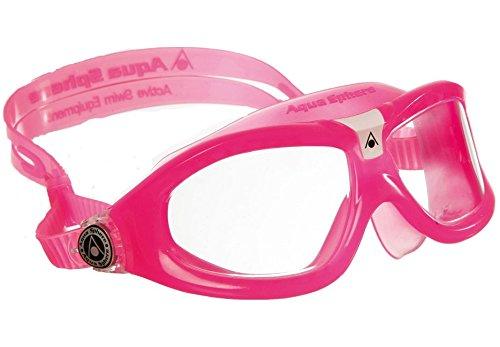 - Aqua Sphere Unisex-Child Seal Kid2 Goggles Red