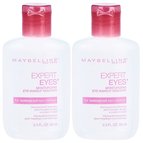 Maybelline New York Expert Eyes Moisturizing Eye Makeup Remover, 2 Count