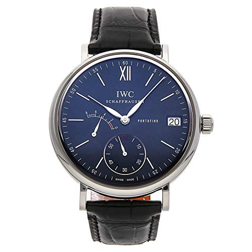 - IWC Portofino Mechanical (Hand-Winding) Blue Dial Mens Watch IW5101-06 (Certified Pre-Owned)
