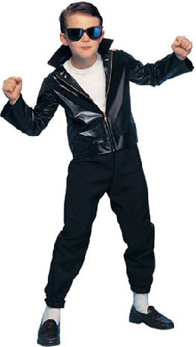 [Greaser Child Costume] (Danny Sandy Grease Costumes)