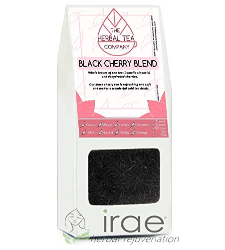 Wild Cherry Bark Tea Black Cherry Tea Blend Tea Bags With Natural Flavour 50 Pack