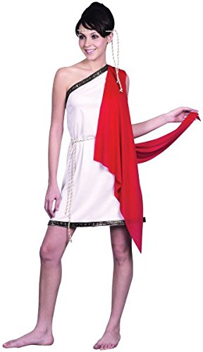 Bristol Novelty AC388 Toga Ladies Costume, UK 10-14]()